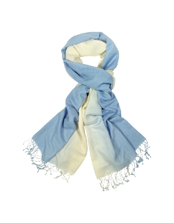 Two Tone Silk Pashmina Scarf by Forzieri in The Second Best Exotic Marigold Hotel