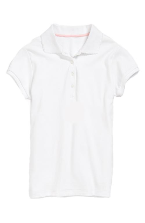 Short Sleeve Polo Shirt by Nordstrom in Man of Steel