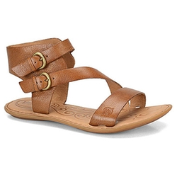 Flat Sandals by Born Eva in She's Funny That Way