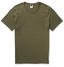 Pima Cotton-Jersey T-Shirt by NN.07 in Max