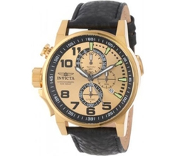 Force Leather Strap Watch by Invicta in Empire