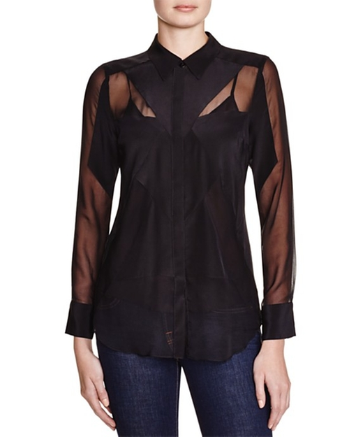 Button Down Blouse by Charlie Jade in The Flash - Season 2 Episode 3