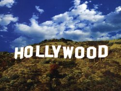 Los Angeles, California by The Hollywood Sign in San Andreas