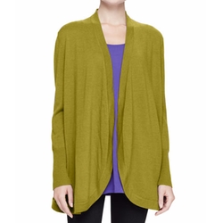 Merino Jersey Long Cardigan by Eileen Fisher in The Circle