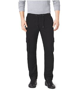 Flannel Cargo Track Pants by Michael Kors in The Gunman