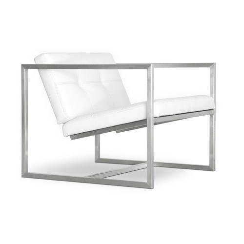 Modern Delano Arm Chair by Gus in Fifty Shades of Grey