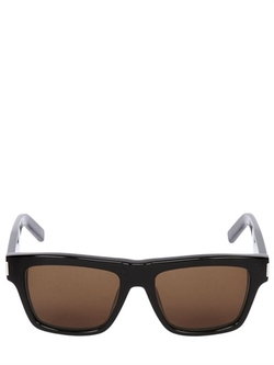 Bold 5 Squared Acetate Sunglasses by Saint Laurent in Jurassic World