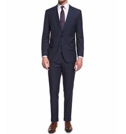 Huge Genius Slim-Fit Basic Suit by Boss in Alex, Inc.