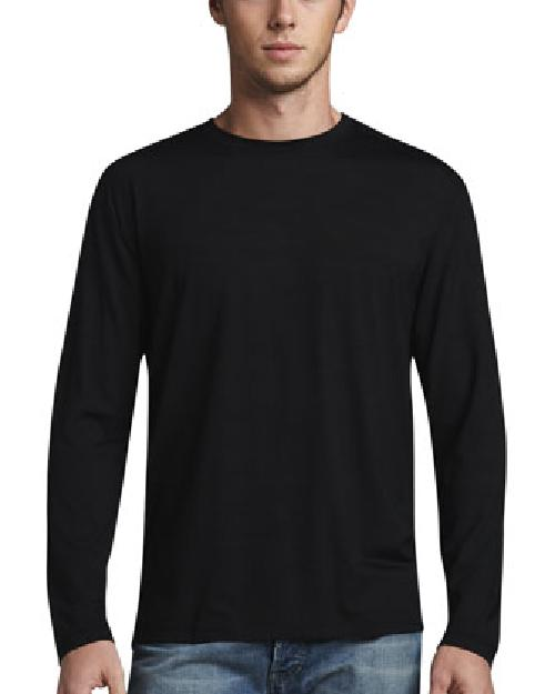 Basel 1 Long-Sleeve Jersey Tee, Black by Derek Rose in Vampire Academy