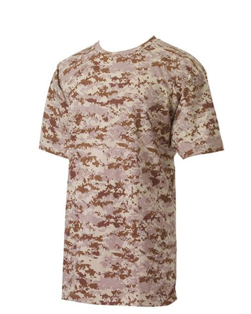 Mens Digital Camouflage T-Shirt by Code V in Sabotage