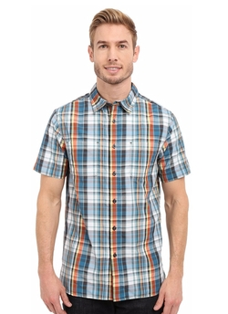 Short Sleeve Solar Plaid Shirt by The North Face in Creed