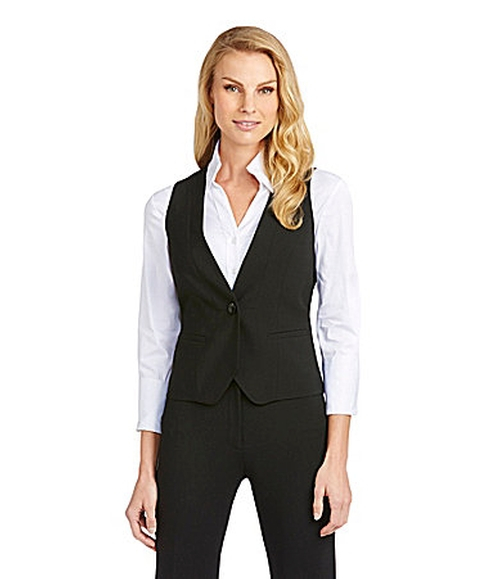 Vesra Suiting Vest by Antonio Melani in Pitch Perfect 2
