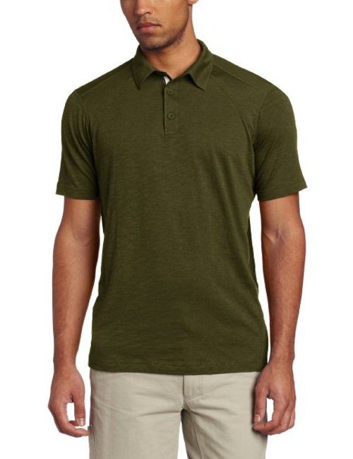 Exo Java Tech Polo Short Sleeve Shirt by ExOfficio in The Boy Next Door