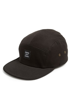 'Glendale' Five Panel Cap by Herschel Supply Co. in Dope