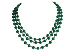 1950s Jade Triple-Strand Necklace by Little Baby Kitty in How To Get Away With Murder