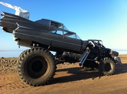 Modified 1959 Coupe/Monster Truck (Gigahorse) by Cadillac in Mad Max: Fury Road