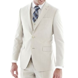 Regular Fit Bone Suit Jacket by J.F. J Ferrar in Crazy, Stupid, Love.
