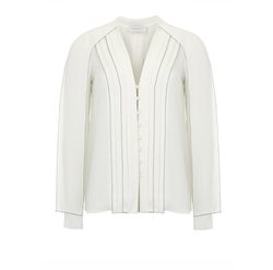 Delaunay Blouse by Gabriela Hearst in Suits
