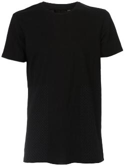 'Sashiko' Crew Neck T-Shirt by Wings+Horns in Contraband