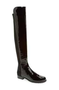 '5050' Over the Knee Leather Boots by Stuart Weitzman in Pretty Little Liars