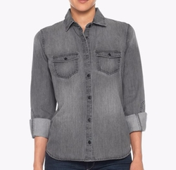 Ash Denim Shirt by Joe's Jeans in The Hitman's Bodyguard