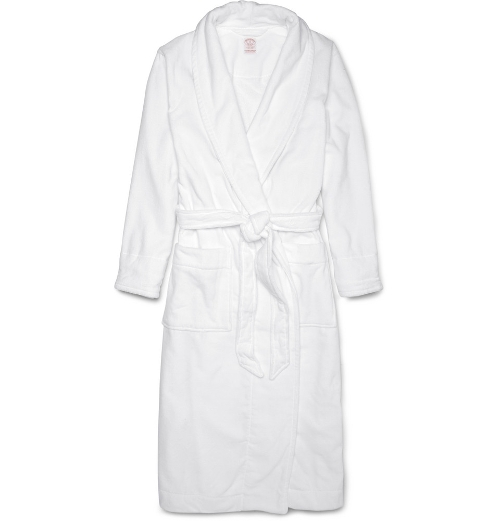 Cotton-Terry Bathrobe by Brooks Brothers in Love & Mercy