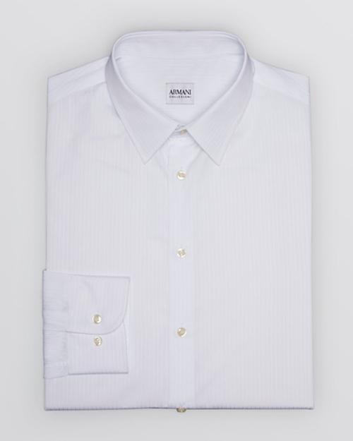 Stripe Dress Shirt by Armani Collezioni in The Program