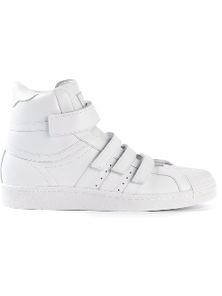 Junn. J X Original 'Superstar' Hi-Tops Sneakers by Adidas Originals in Dope