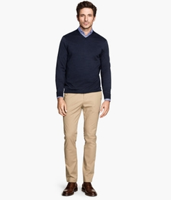 Slim-fit Chino Pants by H&M in Vacation