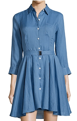 Women's Jalyis Crunch Shirtdress by Theory in Pretty Little Liars