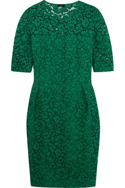 Dilys Cotton-Blend Macramé Lace Dress by Joseph in The Good Wife