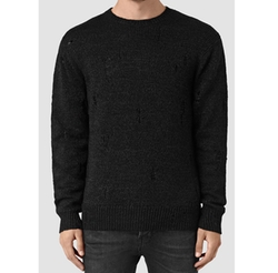 Aktarr Crew Sweater by AllSaints in Shadowhunters
