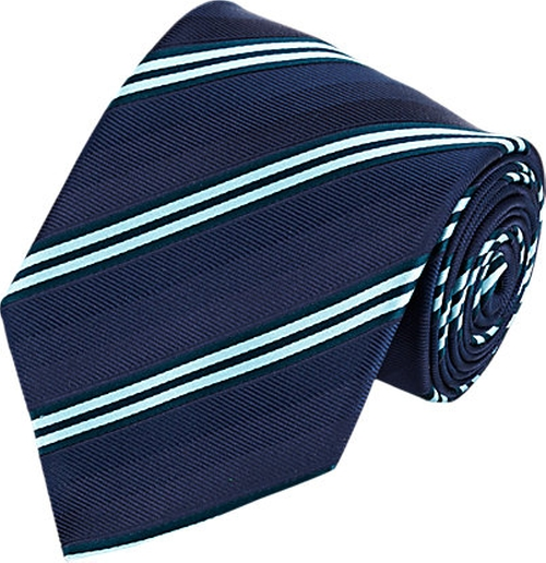 Mixed Stripe Neck Tie by Brioni in Suits - Season 5 Episode 6