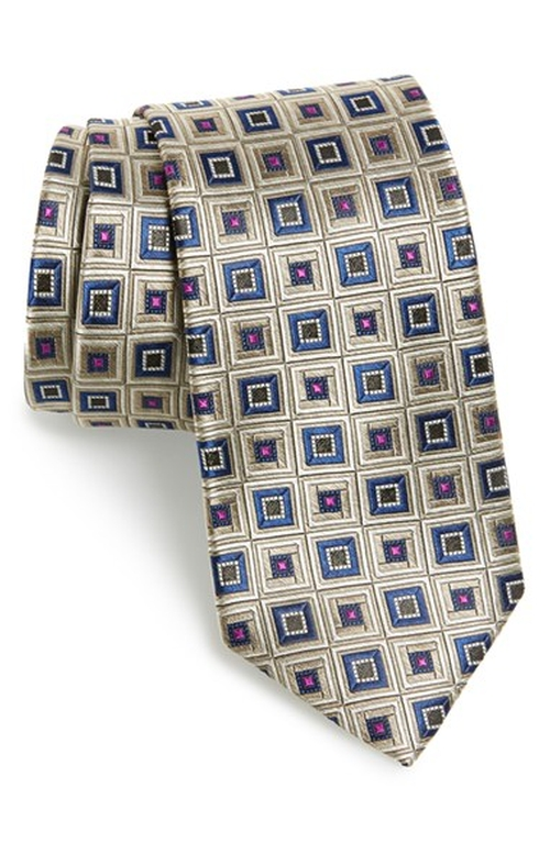 Claridge Square Silk Tie by Nordstrom in Brooklyn Nine-Nine - Season 3 Episode 9