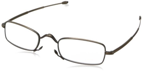 Men's Square Reading Glasses by John Varvatos in (500) Days of Summer