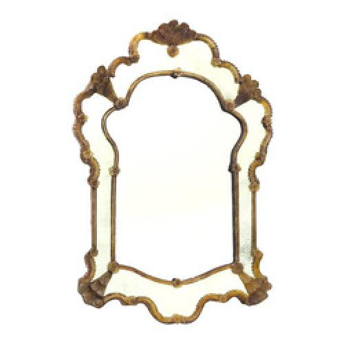 Bella Antique Mirror by Go Home LTD in The Great Gatsby