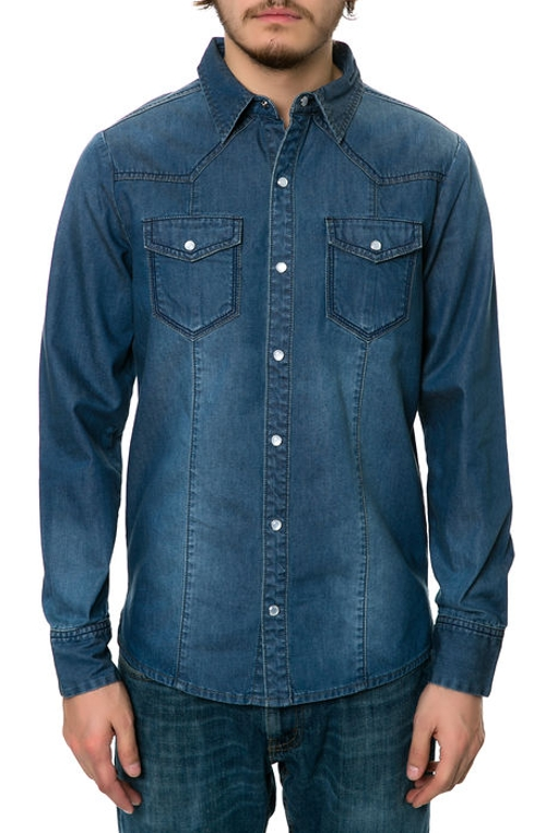 Williamburg Denim Shirt by Springfield Classic in Before I Wake