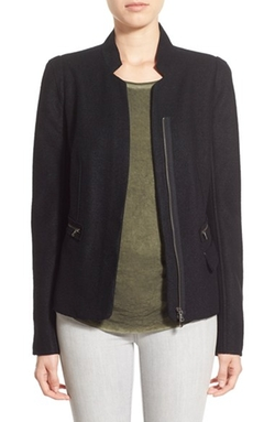 'Pippa' Wool Blazer by Paige Denim in Elementary