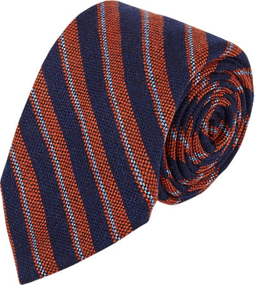 Mixed-Stripe Jacquard Neck Tie by Barneys New York in Spotlight