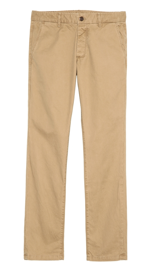 Slim Fit 3-Ply Chinos by Grown & Sewn in Dolphin Tale 2