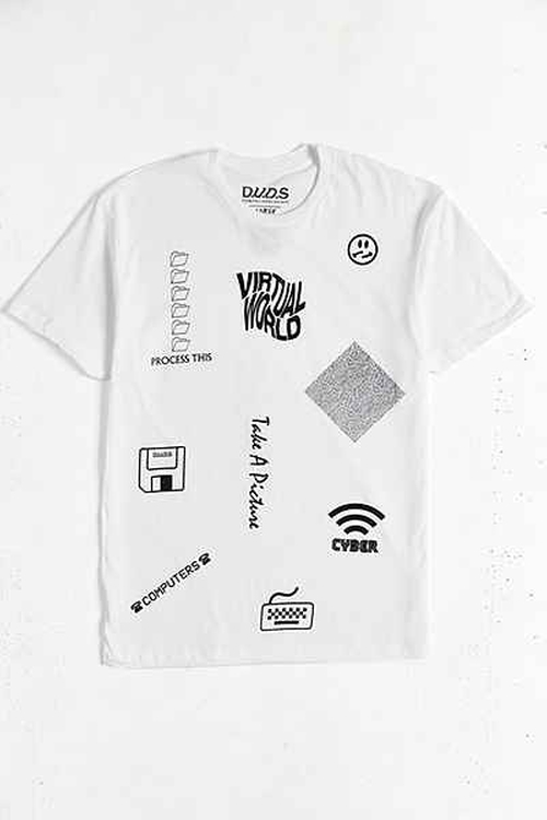 Virtual World Tee by D.U.D.S. in Rock The Kasbah
