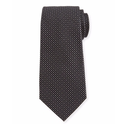 Woven Neat Silk Tie by Armani Collezioni in Marvel's Luke Cage