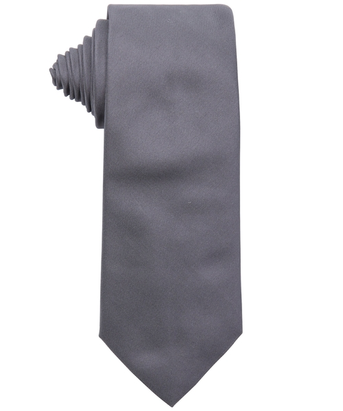 Grey Silk Tie by Armani in Life