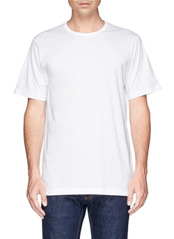Crew-Neck Undershirt by Sunspel in American Ultra