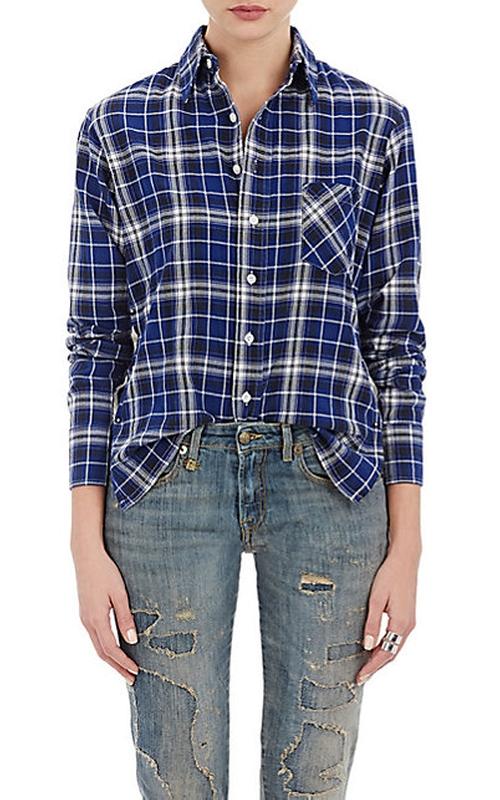Lightweight Flannel Shirt by R13 in The Bachelorette - Season 12 Episode 7