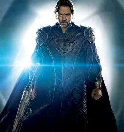 Custom Made Jor-El Armor by Michael Wilkinson (Costume Designer) in Man of Steel