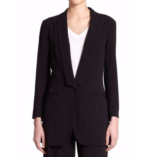 Shawl Collar Blazer by ATM Anthony Thomas Melillo in Conviction