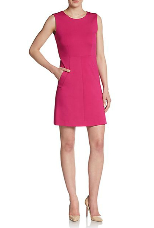 Carpreena Mini Dress by Diane Von Furstenberg in Supergirl