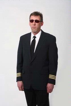 Navy Pilot Captain Uniform Blazers 4 Stripes by Stop-Over Store in Contraband