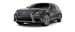 LS Hybrid Sedan by Lexus in Suits